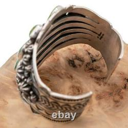 A+ Turquoise Bracelet Sterling Silver SONORAN GOLD Horseshoe HAPPY PIASSO
