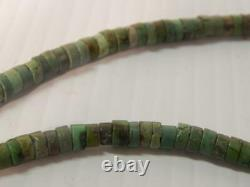 Antique Vintage Navajo / Santo Domingo Pueblo Indian Turquoise Heishi Necklace
