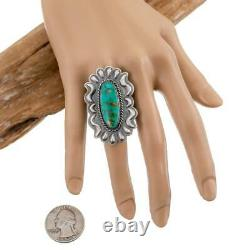 FIRE MOUNTAIN Turquoise Ring Robert Johnson 7 Old Style Student of Kirk Smith
