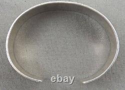 Indian Jewelry, Vintage Hopi Overlay Style Braceet, Sterling Silver