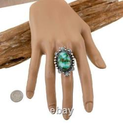 Turquoise Ring SONORAN GOLD Robert Johnson 9 Native American Stdent Kirk Smith
