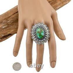 Turquoise Ring SONORAN GOLD Robert Johnson Train Kirk Smith 10.5 Native American