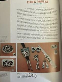Vintage Hopi Bernard Dawahoya Sterling Silver Rattlesnake Snake Swirl Pin Brooch