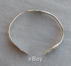 Vintage Mag Sterling Silver Northwest NW Coast Tlingit Bracelet Lovebirds