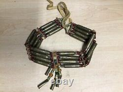 Vintage Native American Jewelry A. I. M. Made Necklace Choker 223 Shells