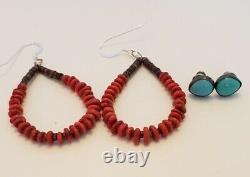 Vintage Native American Sterling Silver & Southwestern Jewelry Lot