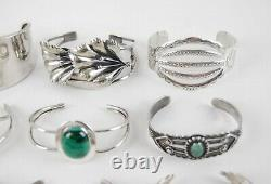 Vintage Sterling Silver NATIVE AMERICAN / SOUTHWESTERN JEWELRY LOT of 25 PCS