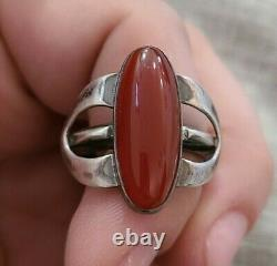 Vintage Sterling Silver Native American Rings Jewelry Lot of 3 -SJ#12