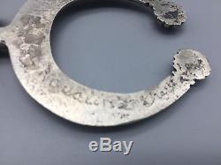 Vintage Sterling Silver Squash Blossom Necklace