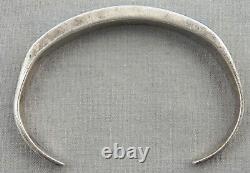 Vintage Zuni Turquoise Inlay & Sterling Bracelet
