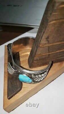 Vintage old pawn native american jewelry bracelet watch bracelet